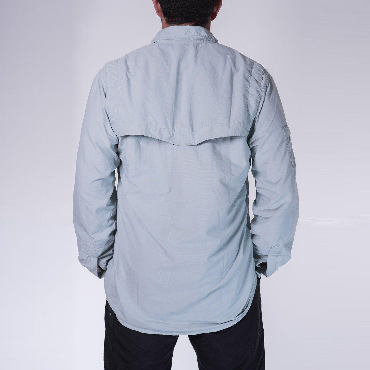 Camisa Masculina Hard Safari  UV50+ Gelo