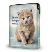 """Capa de Tablet - Ipad 10"""" Cute Cat"""
