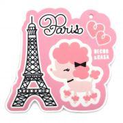 Descanso de Panela Poodle Paris