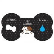 Jogo Americano Dog Black
