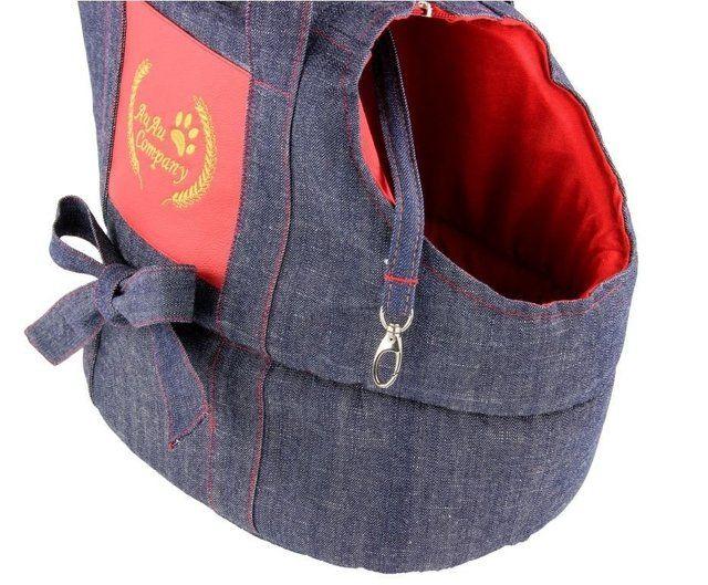 Bolsa de Transporte Jeans Au Au Miau