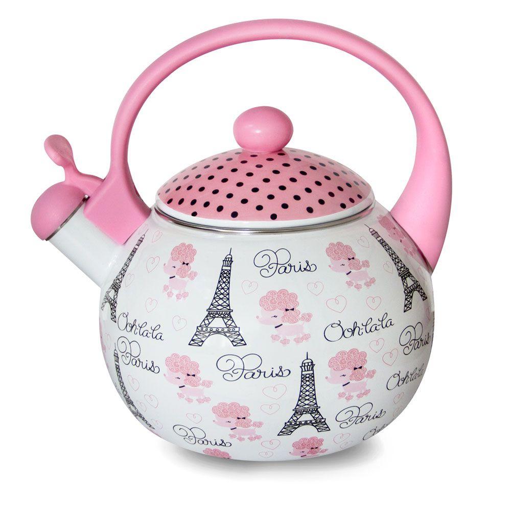Chaleira Poodle Paris