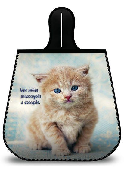 Lixeira para Carro Cute Cat