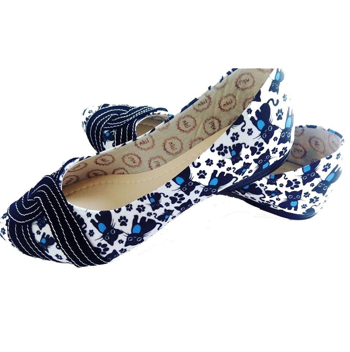 Sapatilha Gatinhos Azul