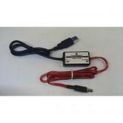 AU 10 - Conversor DC/DC Entrada (USB) 5V - Saída 12V 0,8 Amp (P4)