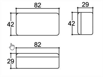 AU 17(6A) - Conversor DC/DC 48V para 24V-6A