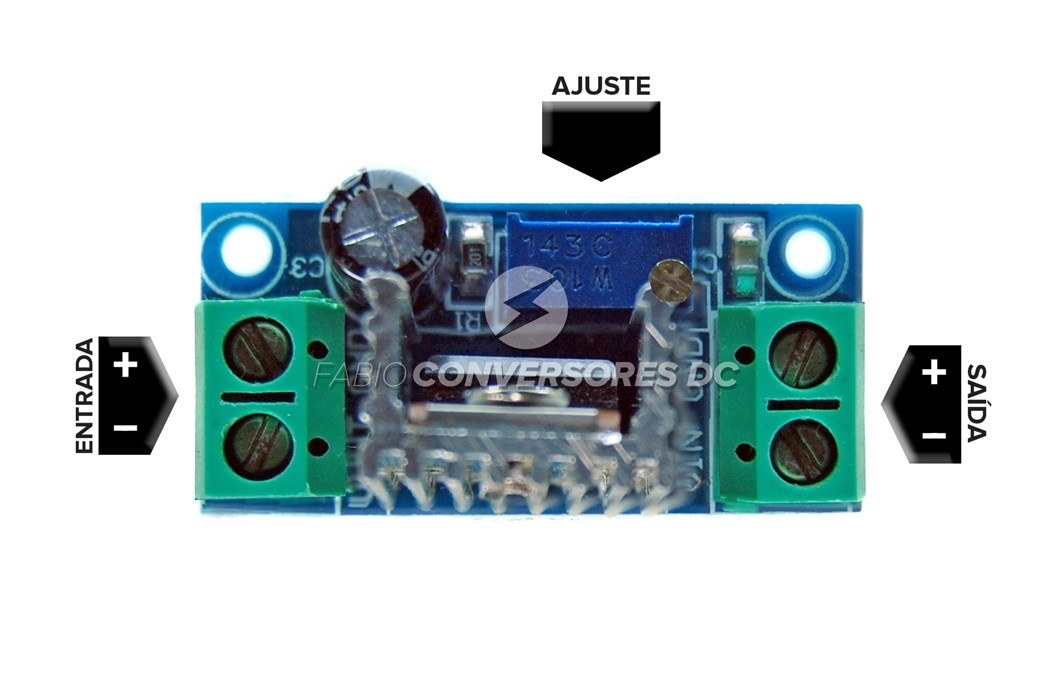 DC/DC STEP DOWN 02 - LM317 (SD02)