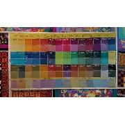 GANHE 3,0M DE SEDA PONGE 5 ao comprar o Kit completo de aquarelas Pintura em Seda vapor 110ml (56 cores)