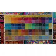 GANHE 2,0M DE SEDA PONGE 5 ao comprar o Kit completo de aquarelas Pintura em Seda vapor 110ml (56 cores)