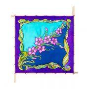 Lenço Guttado 90x90cm - Iris