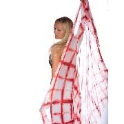 Kit de pintura Tie Dye com um lenço de 90X90cm