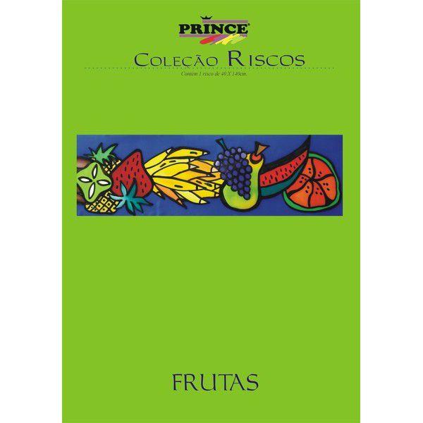 Risco ampliado Frutas