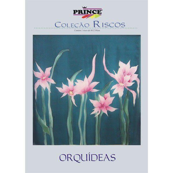 Risco ampliado Orquídeas