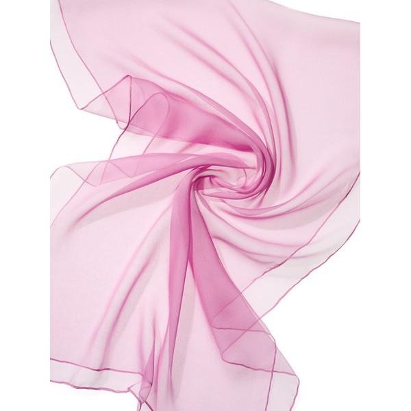 Echarpe Chiffon Colorida 180x55cm - Dusky Pink