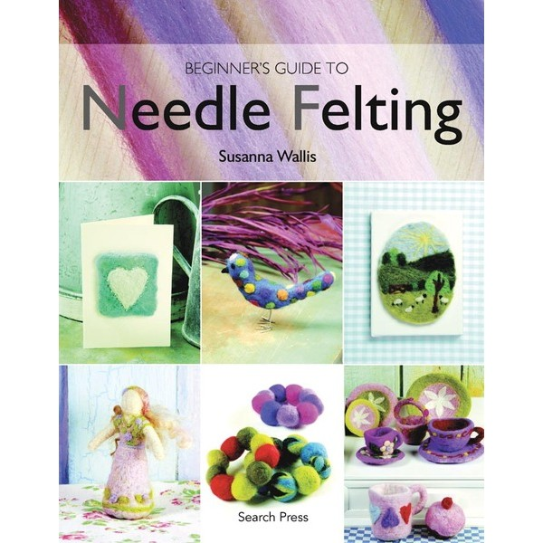 Livro ´Beginner´s Guide to Needle Felting´