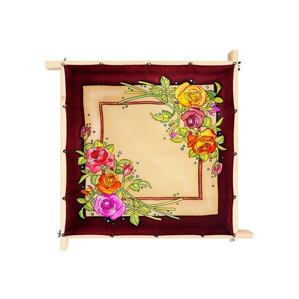 Lenço Guttado 55x55cm - Rose