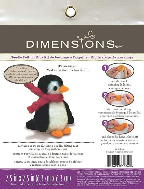 Kit para Feltrar - Pinguim