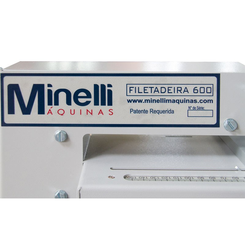 Filetadeira de Fitas de Borda de PVC MMF 600