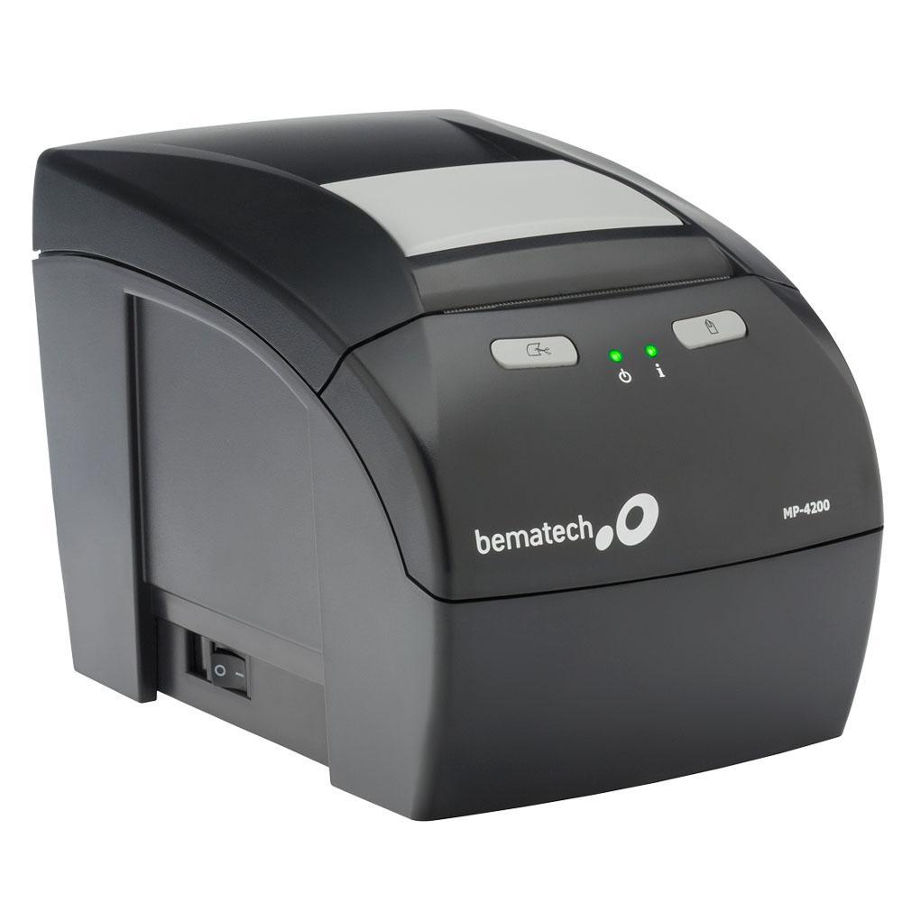 Impressora Térmica de Cupom Não Fiscal Bematech MP 4200 TH (USB/Guilhotina)