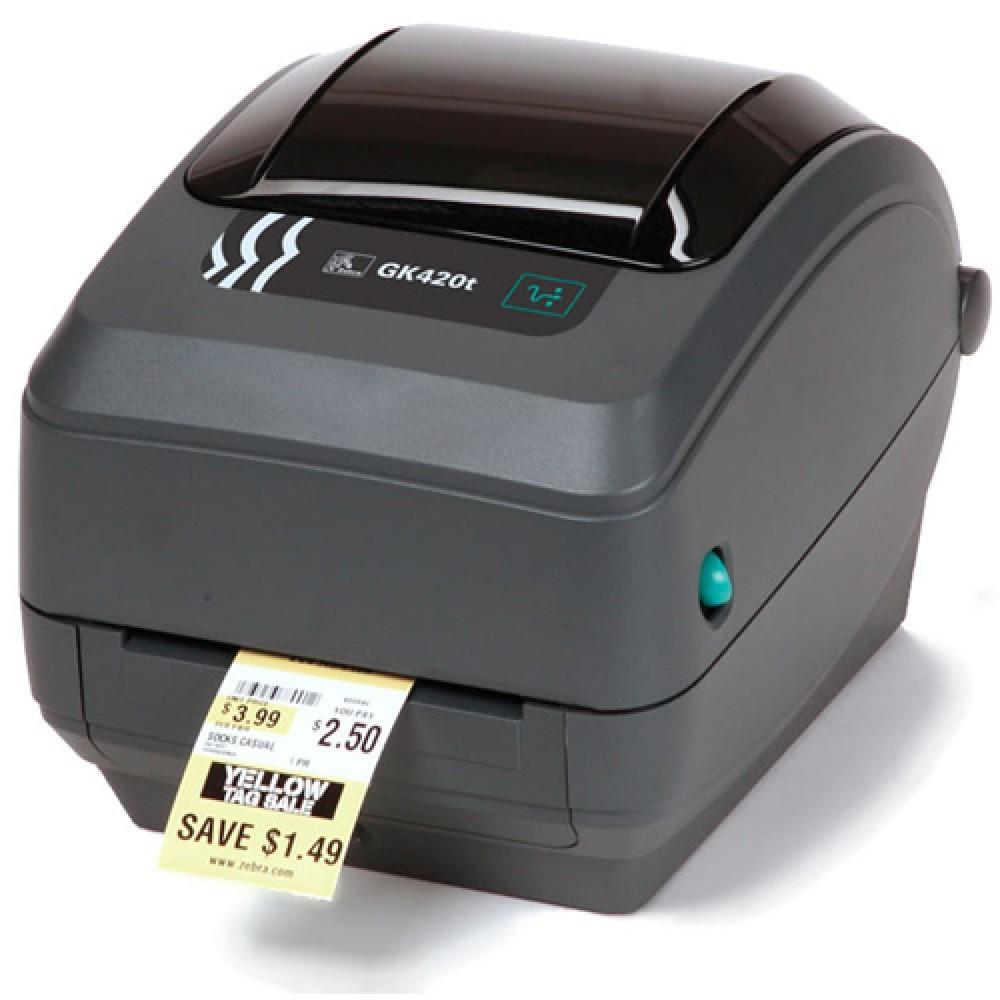Impressora Térmica de Etiquetas Zebra GK 420T
