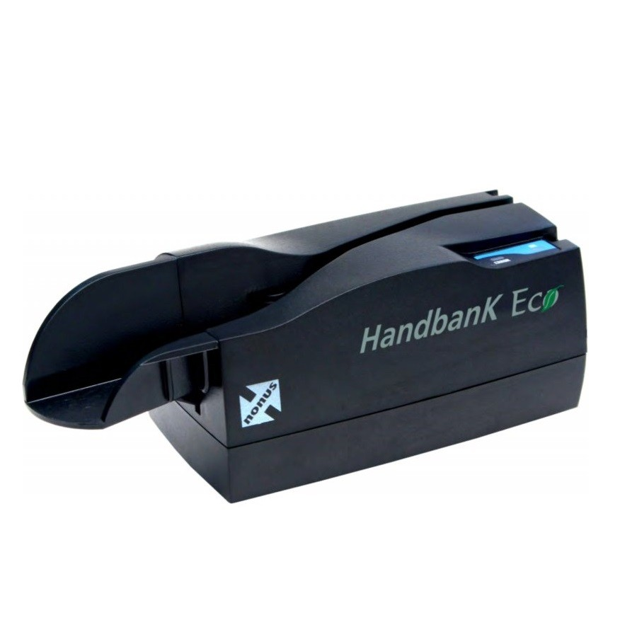 Leitor de Boleto Bancário e Cheque Nonus Hand Bank Eco 10