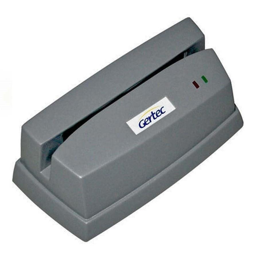 Leitor de Cartões Magnéticos Gertec  - Trilha 1 e 2 (USB)