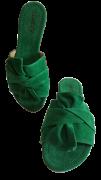 Rasteira Awary Verde