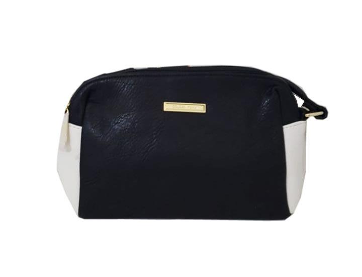 Bolsa Feminina kit Golden Fênix Preto e Branco -  AWB10112