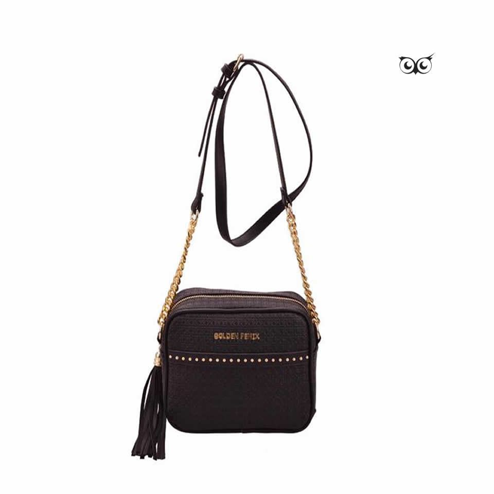 Bolsa Golden Fênix Pequena Clean
