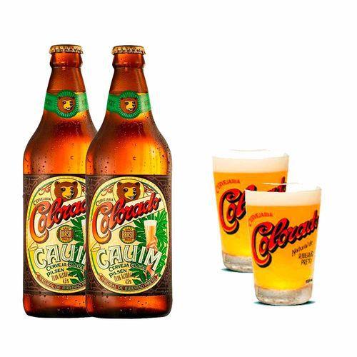 Kit Colorado - 2 Cervejas + 2 Copos