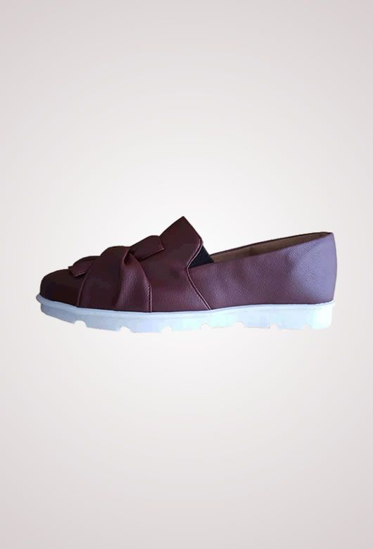 Slip On Awary Marsala