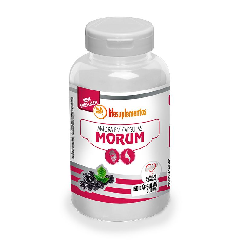Amora - Morum - 60 Cáps. - 300mg