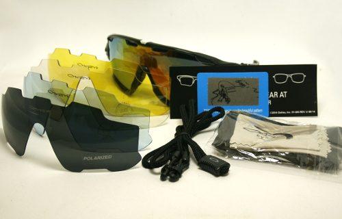 Óculos Oakley Jawbreaker Polarizado 5 Lentes Verde/branco