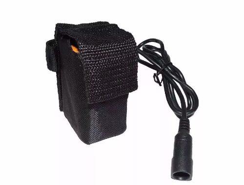 Bateria Para Farol De Bike 8.4v Jws Pack 6x18650