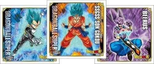 10 Adesivos Dragon Ball Super Oficiais