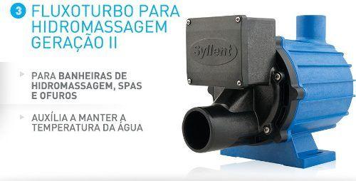 Moto Bomba De Hidromassagem Aqquant Syllent 1/2cv 220v