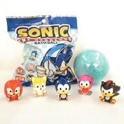 Sonic The Headgehog Bath Ball Figure Bonecos Sonic