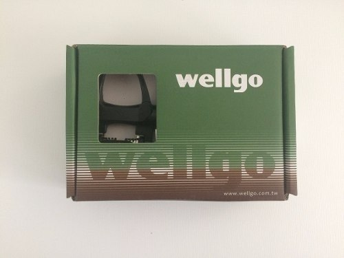 Pedal Speed Wellgo R096b Preto C/ Tacos Look Kéo