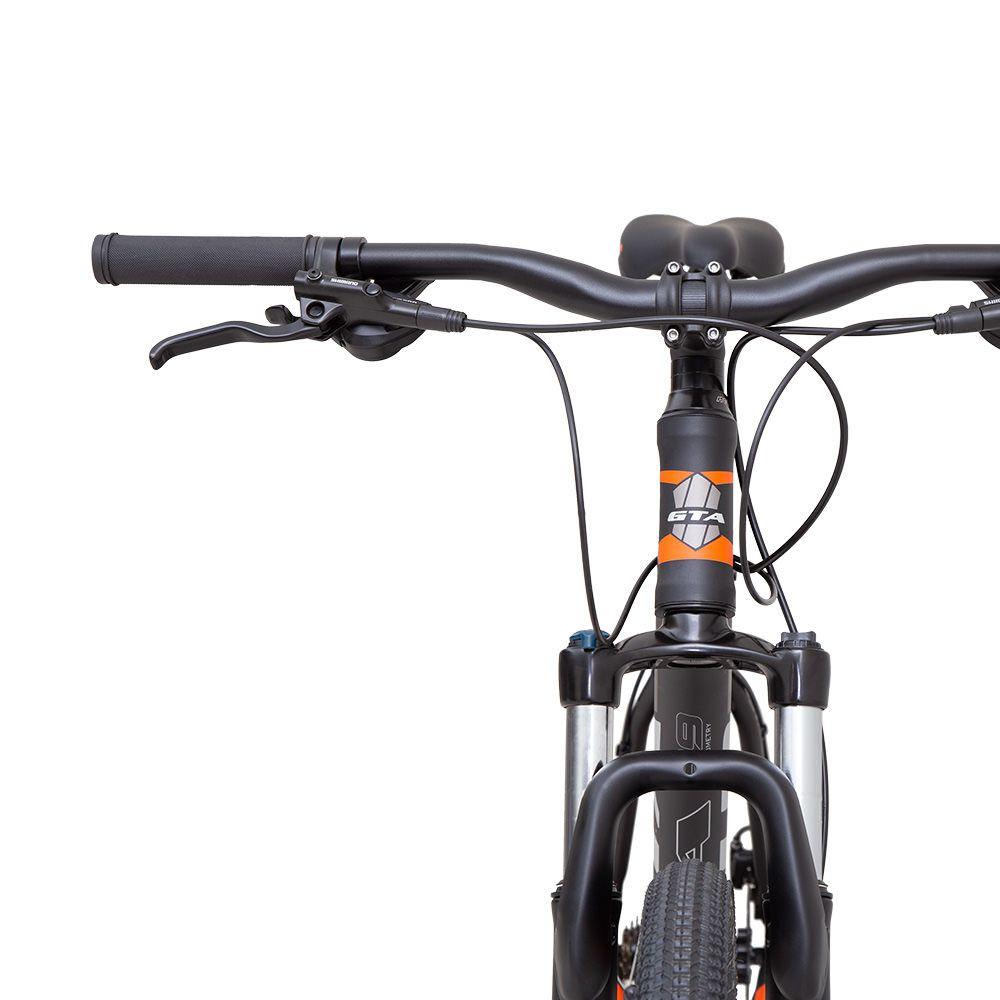 Bicicleta GTA Comp 329 aro 29 Freio Hidráulico 21v Preto/Lar
