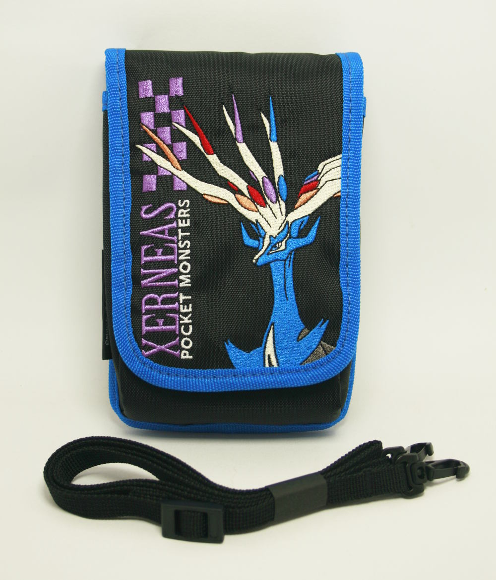 Bolsa P/ New Nintendo 3ds Xl Pokemon Xerneas Importado Do Japão