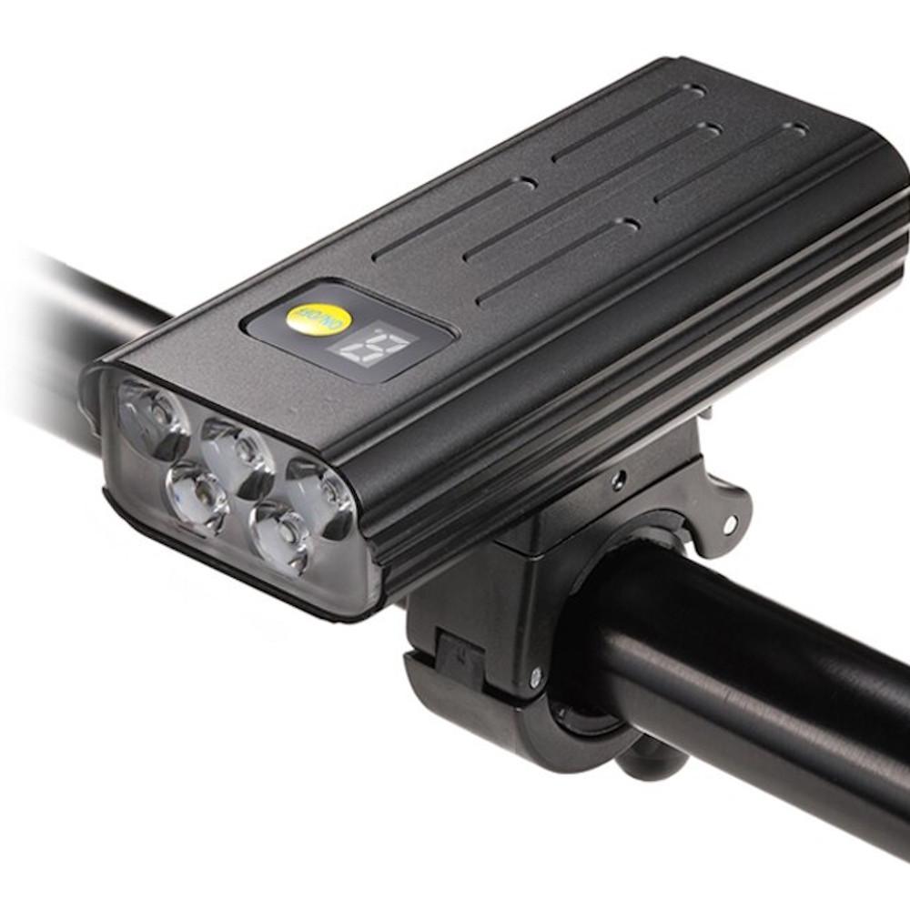 Farol de Bike bateria Embutida  3000 lm 5200Mah Power bank