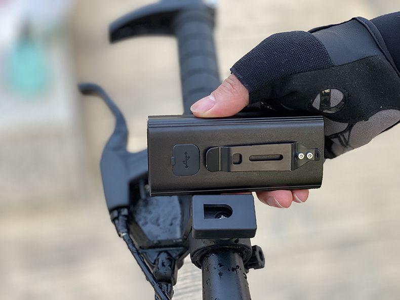 Farol de Bike bateria Embutida BCXYMQ 1100 lm 5200 Mah Power bank D1