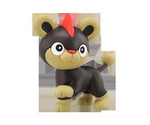 Figure Pokemon Litleo Moncollé Importado Do Japão