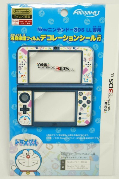 Película Licenciada Para New 3ds Xl Doraemon Imp. Do Japão