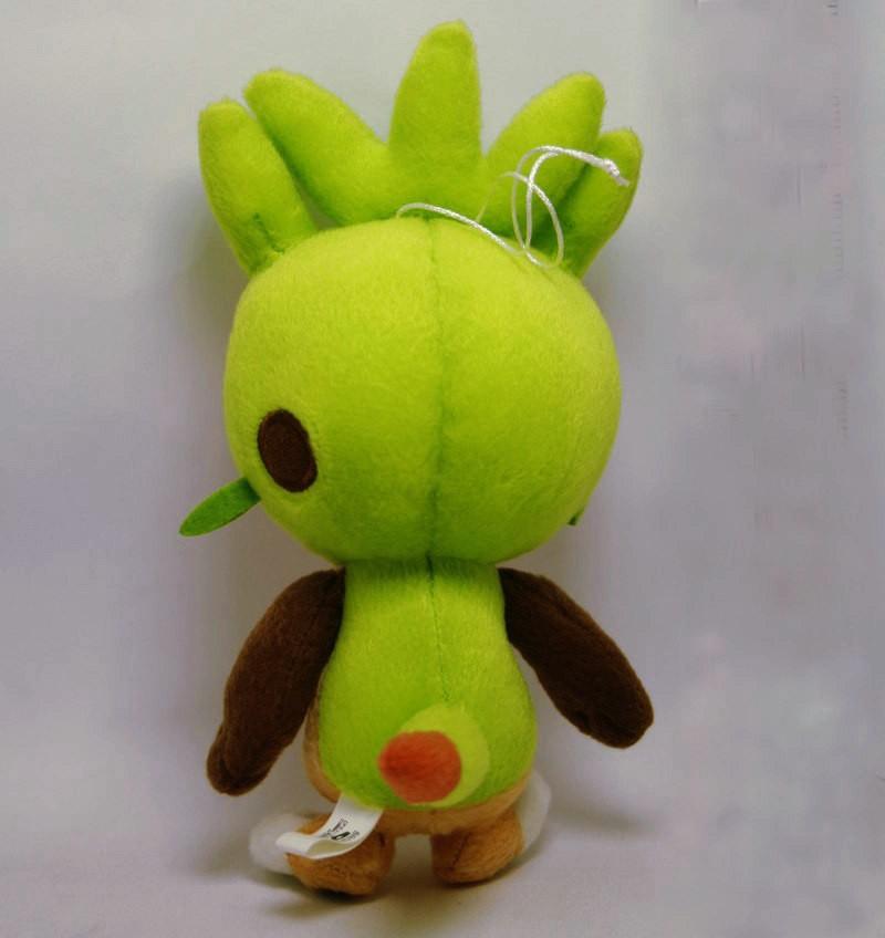 Pelúcia Oficial Pokemon Chespin 18cm Importado Do Japão