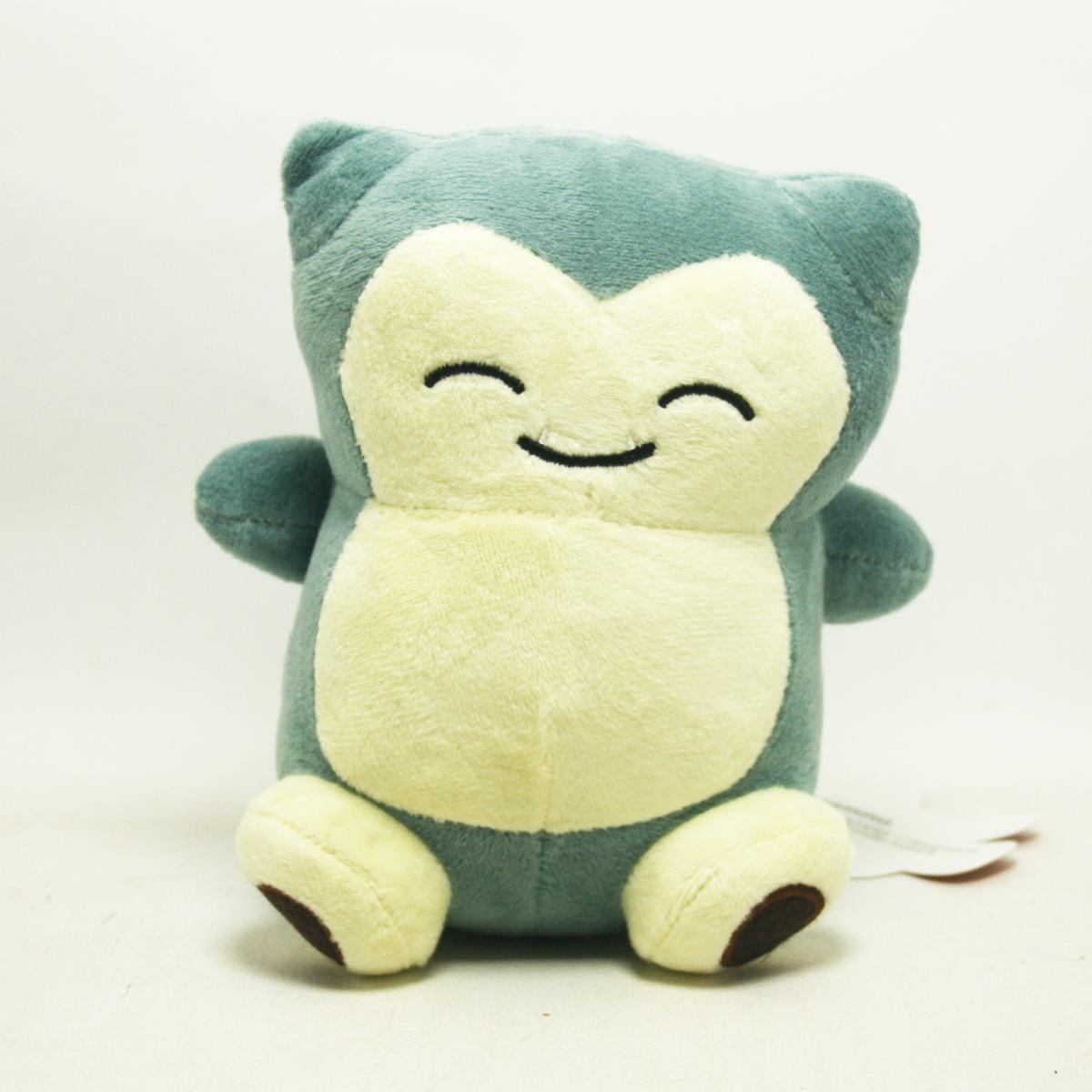 Pelúcia Pokemon Snorlax 15cm