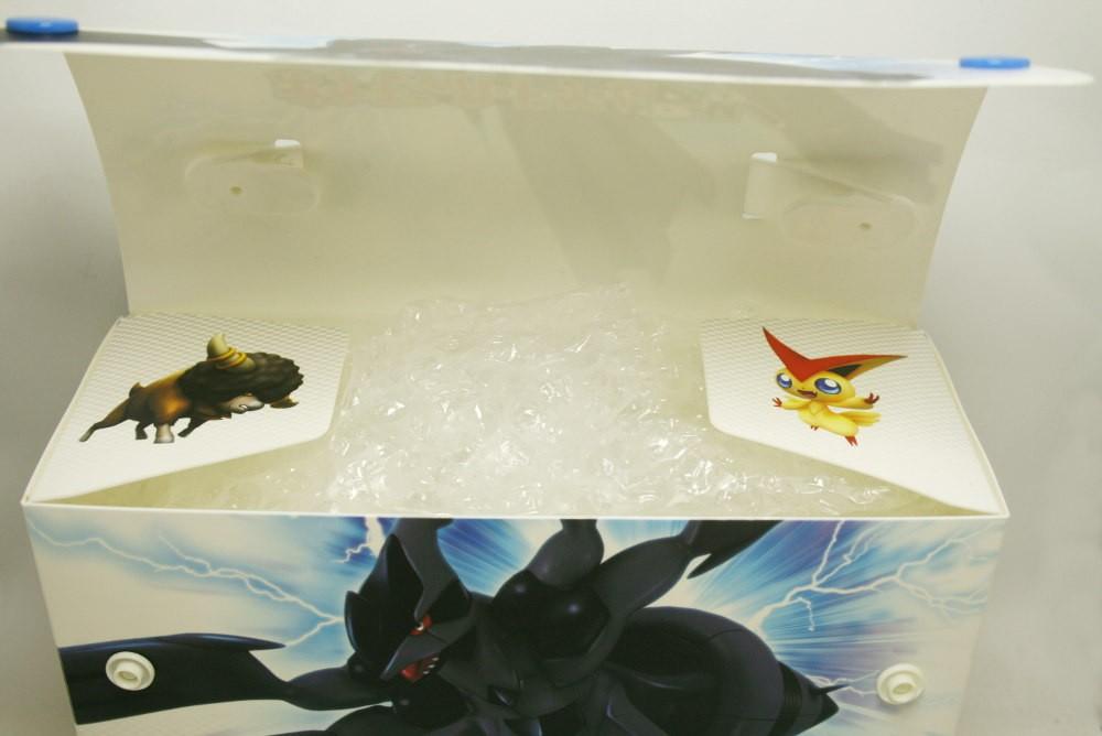 Pokemon Card Game Deck Case Bw Zekrom Imp. Do Japão