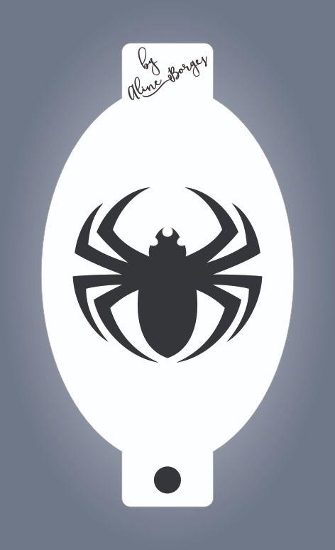 Stencil Aranha