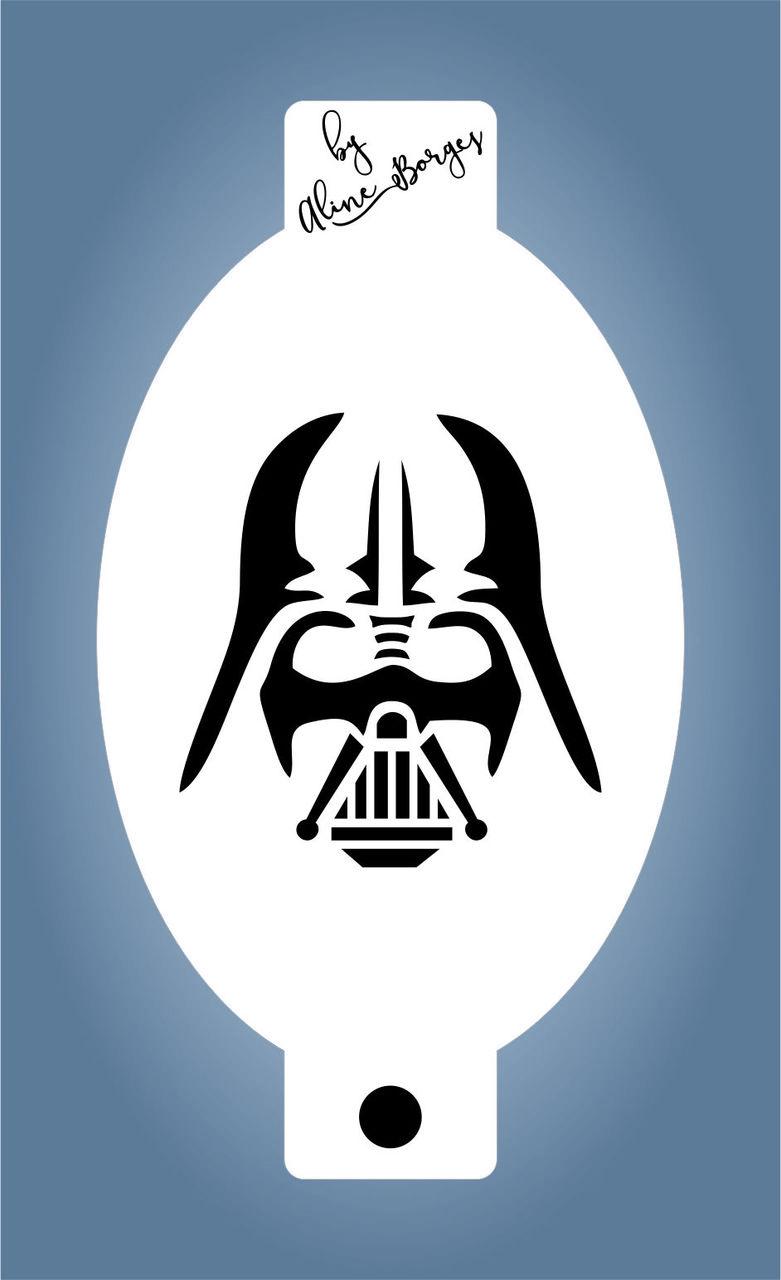 Stencil Darth Vader