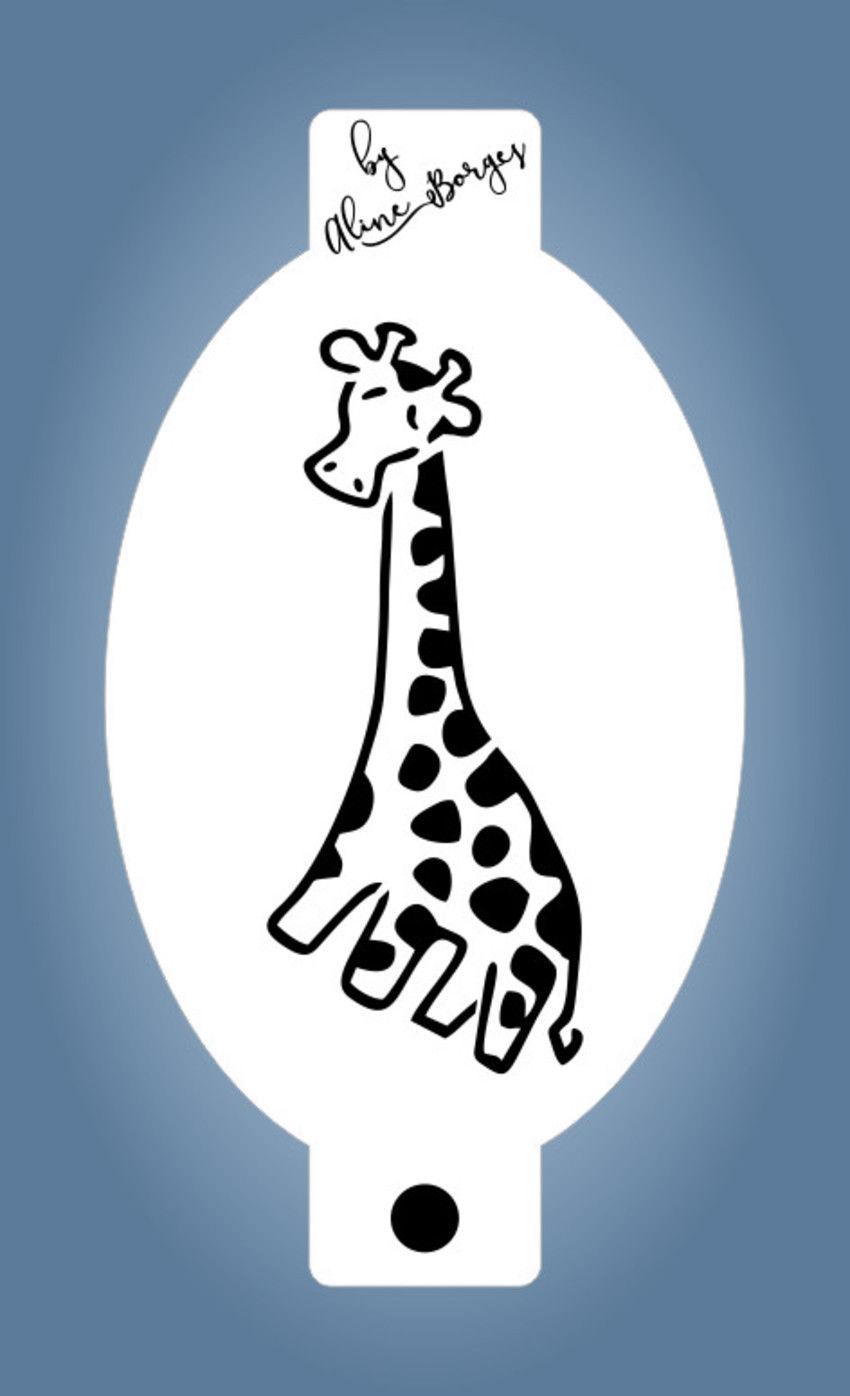 Stencil Girafinha